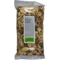 2007 Mixed Nuts Unsalted 500g