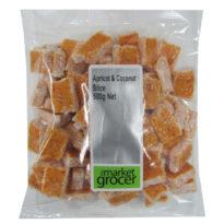 2020 Apricot & Coconut Slice 500g