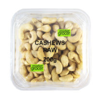 2136T Cashews Raw 200g