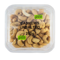 2138T Cashews Unsalted 200g