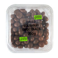 2162T Dried Sultanas Chocolate 200g