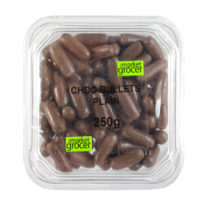 2169T  Chocolate bullets Plain 250g