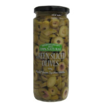 2274 Green Sliced Olives 500g