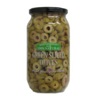 2275 Green Sliced olives 1Kg