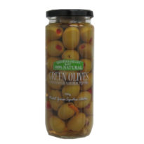 2277 Green Olives with Peppers 500g