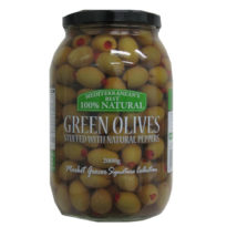2279 Green Olives with Pepper 2Kg