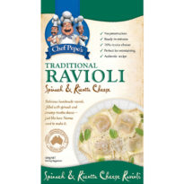 2296F Ravioli Cheese & Spinach500g