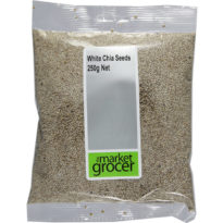 2312 White Chia Seeds 250g