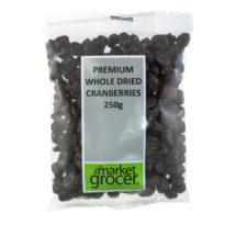 232 Dried Cranberries 250g