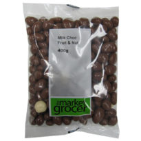 2361 Milk Choc Fruit & Nut 400g