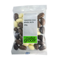 2470 Assorted Chocolate Brazil Nuts 250g