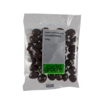 2471 Dark Chocolate Cranberries 250g