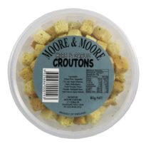 251 Moore & Moore Croutons Herb & Garlic 80g
