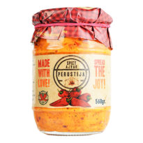 2643 Ajvar Perustija Homemade Hot 560g