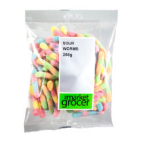 2678 Sour Worms 250g