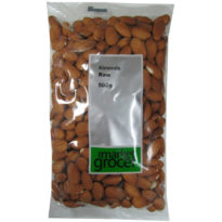 497 TMG Almonds Raw 500g