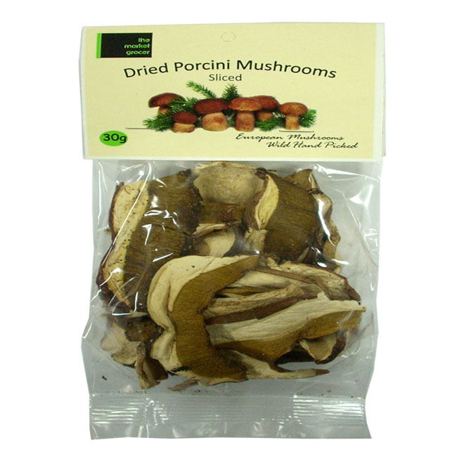 Dried Porcini & Forest Mushrooms