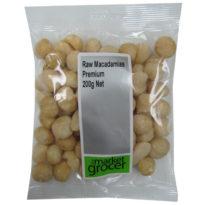 628 Macadamias Raw Premium 200g