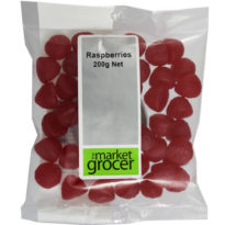 650 Raspberries 200g