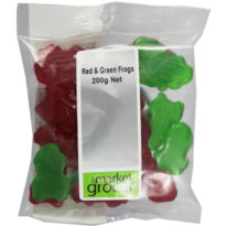 652 Red & Green Frogs 200g