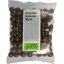 681 Chocolate Sultanas 250g