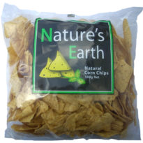 873 Nature's Earth Corn Chips Natural 500g