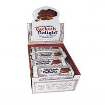 Turkish Delight Rose Flavour w almond covered Milk choc twin pack