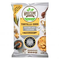 Corn Chips with Cauliflower Linseed Cheddar 150g