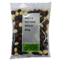 Fruit & Nut Choc Medley 400g