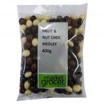 Fruit & Nut Choc Medley 400g