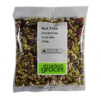 Nut Free Trail Mix Cranberries 250g