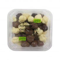 Caramel Popcorn Choc Medley 175g