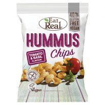 Eat Real Hummus Chips Tomato & Basil 45g