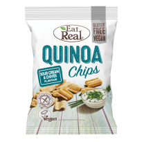 Eat Real Quinoa Chips Sour Creaam & Chives 30g
