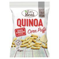 Eat Real Quinoa Puffs White Cheddar 45g