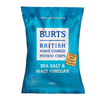 BURTS Sea Salt & Malt Vinegar 150g