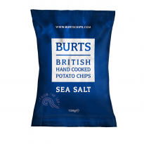 Burts Sea Salt 150g