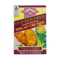 KAK GF Bread Crumbs Lemon Pepper 200g