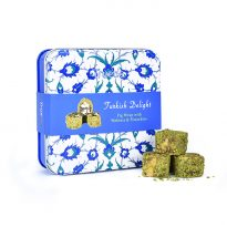 Truede Turkish Delight Fig Wrap with Pistachios & Walnuts Tin 125g